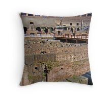 Where Lions Rome Throw Pillow