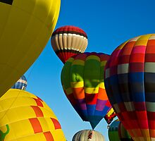 Colorful Balloons by Brian Hendricks