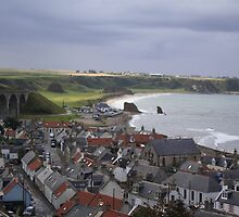 Cullen Viaduct and Beach by jennanne