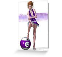 Poolgames 2009 - No. 12 Greeting Card