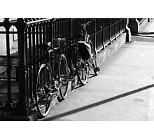 Bicycles At The Opera Photographic Print