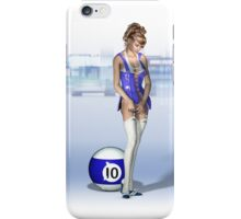 Poolgames 2009 - No. 10 iPhone Case/Skin