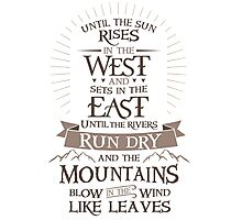 The Promise Photographic Print