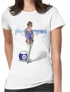 Poolgames 2009 - No. 10 Womens Fitted T-Shirt