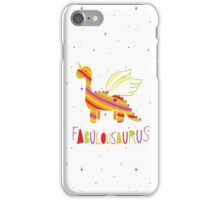 Fabulousaurus iPhone Case/Skin