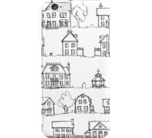 Sketching a Neighborhood iPhone Case/Skin