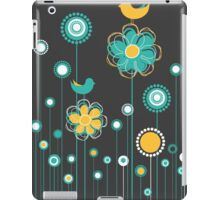 Whimsical Garden Birds and Flowers iPad Case/Skin