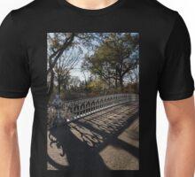 Whimsical Shadows - New York City Central Park Bridge Unisex T-Shirt