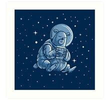 Space Bear Art Print