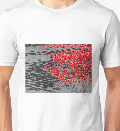 Poppies For The Fallen Unisex T-Shirt