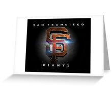 SF Giants MOS Greeting Card