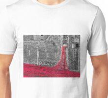 Cascade Of Poppies Unisex T-Shirt