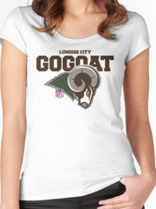 Lumiose City Gogoat Women's Fitted Scoop T-Shirt