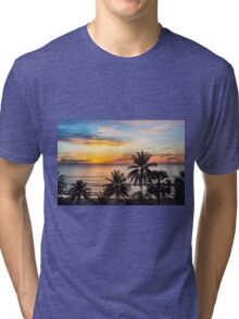 Sunset in Paradise Tri-blend T-Shirt