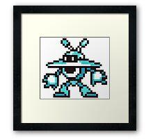 galaxy man Framed Print