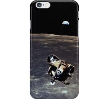 Earthrise and Lunar Lander iPhone Case/Skin