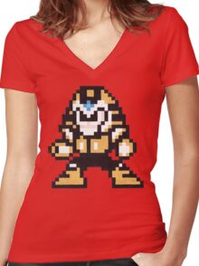 pharaoh man Women's Fitted V-Neck T-Shirt