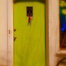 Green Door by Barbara Gerstner