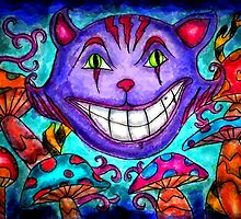 Cheshire Cat by Octavio Velazquez
