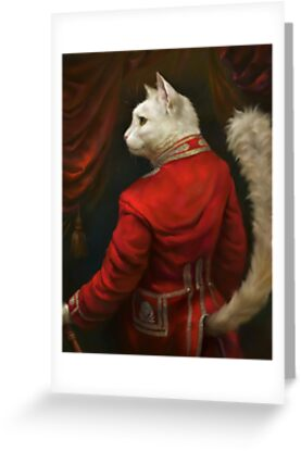 The Hermitage Court Chamber Herald Cat by Ldarro