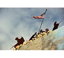Iwo Jima in Steel II Photographic Print