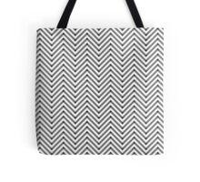 Zig Zag Patterns Tote Bag