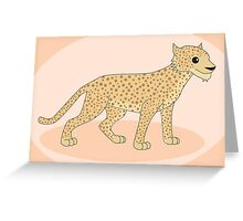 Spotted Big Cat Greeting Card