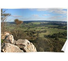 Summit View, Mt. Barker, South Australia. Poster
