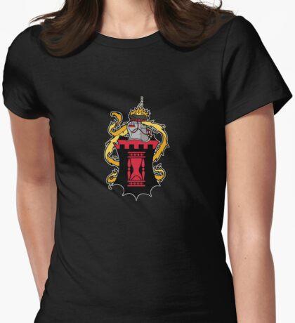 Dark Ages Bloodline Shield: True Brujah Womens Fitted T-Shirt