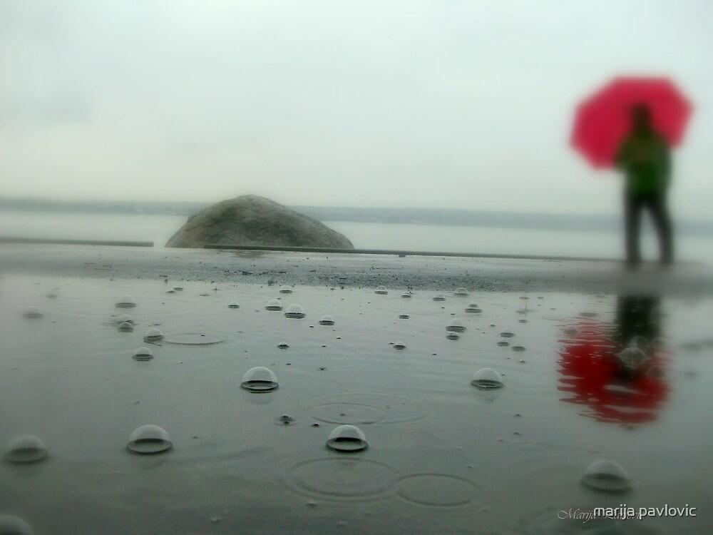 rainy day by marija pavlovic