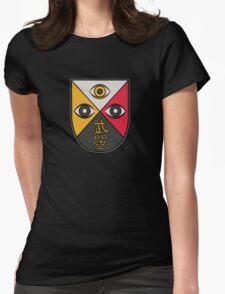 Dark Ages Bloodline Shield: Salubri Watcher Womens Fitted T-Shirt