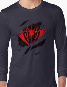 Secret Identity: Ultimate Spider Man Long Sleeve T-Shirt