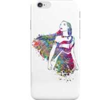 Princess Pocahontas Watercolor iPhone Case/Skin