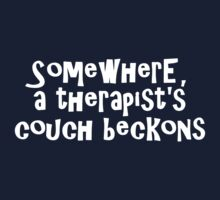 Somewhere, a therapist's couch beckons by digerati