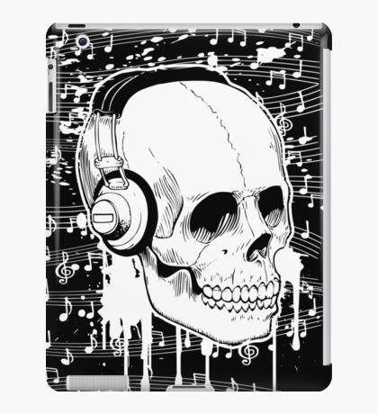 Skull Music design iPad Case/Skin