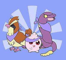 Pokemon Rescue Teams Wanted by Daniel Bonney