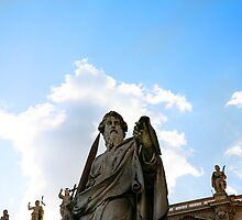 Statue of David - Vatican by tamarakenyon