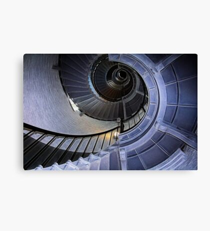Florida lighthouse stairs II Canvas Print