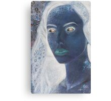 The stone girl  Canvas Print