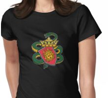 Dark Ages Bloodline Shield: Lamia Womens Fitted T-Shirt