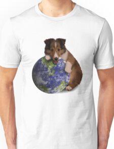 Earth Day Sheltie Unisex T-Shirt