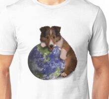 Earth Day Sheltie Unisex T-Shirt
