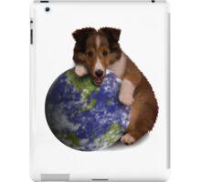 Earth Day Sheltie iPad Case/Skin