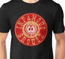 Infamous Grouse RED emblem Unisex T-Shirt