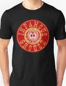 Infamous Grouse RED emblem T-Shirt