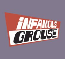 Infamous Grouse Retro logo by Nick Lockwood