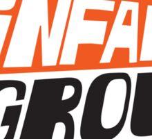 Infamous Grouse Retro logo Sticker