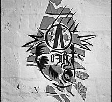 Random graffitti at Art Unit by ArtUnit