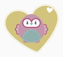 OWL SERIES :: heart hoot 2 T-Shirt