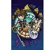 Kingdom Hearts in The Wind Waker style (Sora) Photographic Print